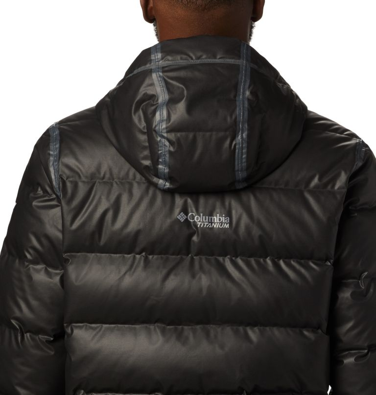 OutDry Ex™ Alta Peak™ Down Jacket | 010 | M Manteau en duvet OutDry Ex™ Alta Peak™ pour homme, Black Heather, a3