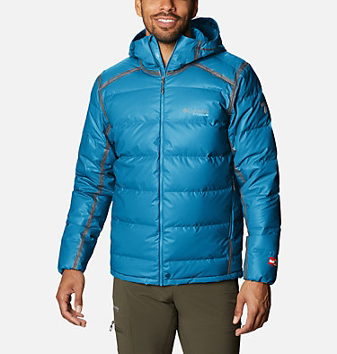 Men's OutDry™ Ex Alta Peak™ Down Jacket OutDry Ex™ Alta Peak™ Down Jacket | 430 | XXL, Canyon Blue Heather, front
