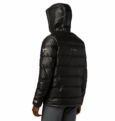 Chaqueta de plumón con OutDry™ Ex Alta Peak para hombre OutDry Ex™ Alta Peak™ Down Jac | 010 | L, Black Heather, back