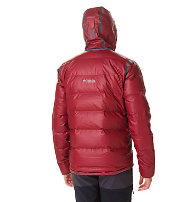 Men's OutDry™ Ex Alta Peak Down Jacket OutDry Ex™ Alta Peak™ Down Jac | 010 | L, Red Jasper Heather, back