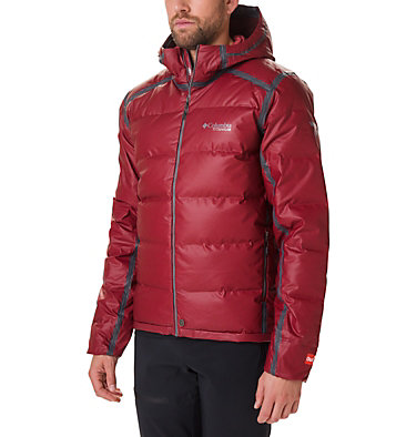 Men's OutDry™ Ex Alta Peak Down Jacket OutDry Ex™ Alta Peak™ Down Jac | 010 | L, Red Jasper Heather, front