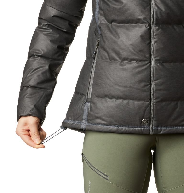 OutDry Ex™ Alta Peak™ Down Jacket | 010 | XS Women's OutDry Ex™ Alta Peak™ Down Jacket, Black Heather, a3