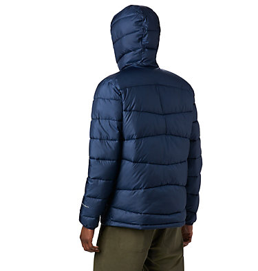 Men's Fivemile Butte™ Hooded Jacket Fivemile Butte™ Hooded Jacket | 464 | L, Collegiate Navy, back