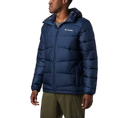 Men's Fivemile Butte™ Hooded Jacket Fivemile Butte™ Hooded Jacket | 464 | L, Collegiate Navy, front