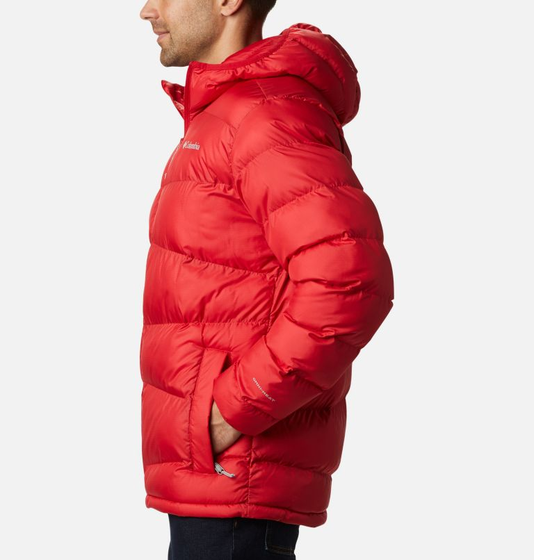 Fivemile Butte™ Hooded Jacket | 614 | S Manteau à capuchon Fivemile Butte™ pour homme, Mountain Red, a1