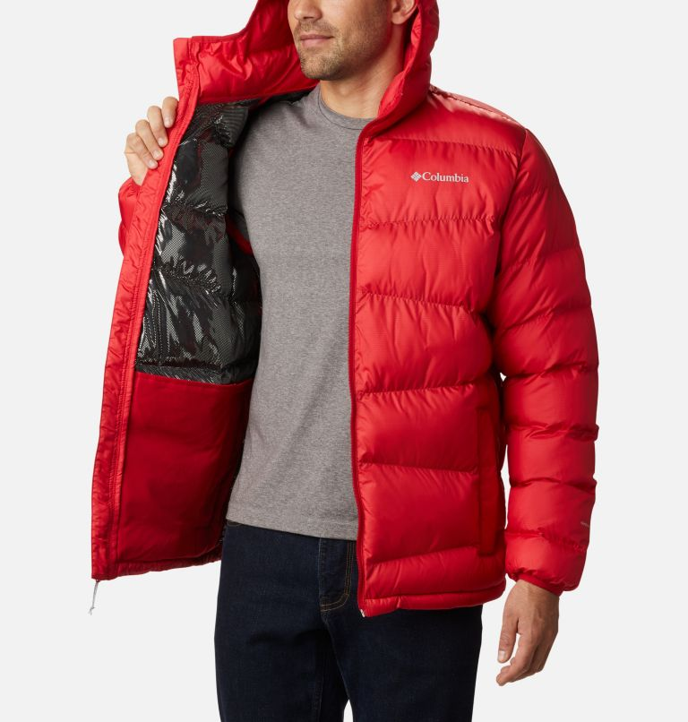Fivemile Butte™ Hooded Jacket | 614 | S Manteau à capuchon Fivemile Butte™ pour homme, Mountain Red, a3