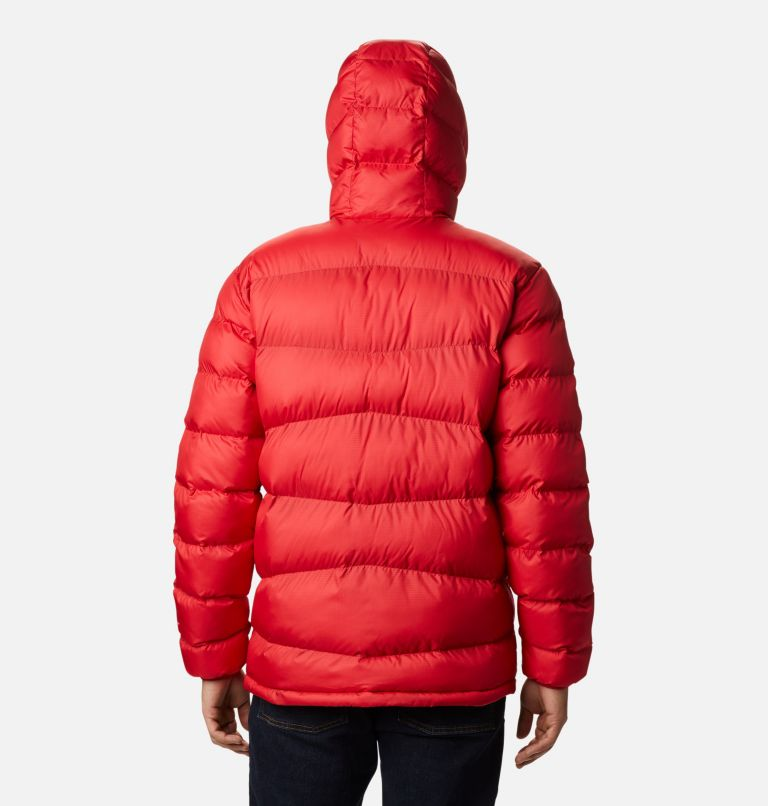 Fivemile Butte™ Hooded Jacket | 614 | S Manteau à capuchon Fivemile Butte™ pour homme, Mountain Red, back