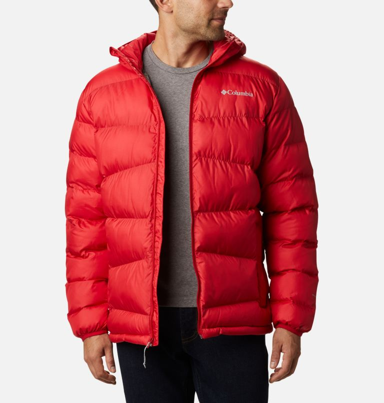 Fivemile Butte™ Hooded Jacket | 614 | S Manteau à capuchon Fivemile Butte™ pour homme, Mountain Red, front