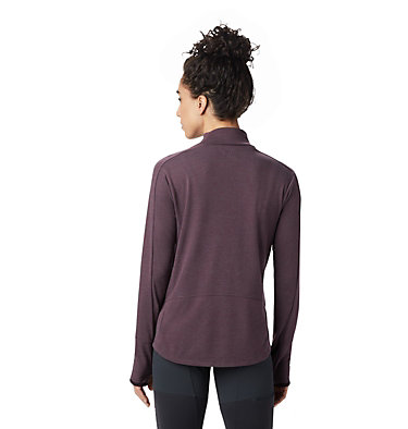 Women's Daisy Chain™ Mock Neck Daisy Chain™ Mock Neck | 324 | L, Darkest Dawn, back