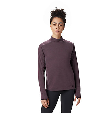 Women's Daisy Chain™ Mock Neck Daisy Chain™ Mock Neck | 324 | L, Darkest Dawn, front