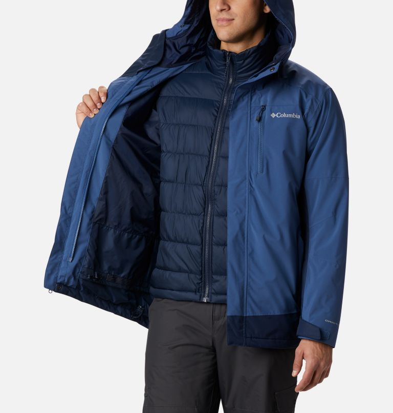 Lhotse™ III Interchange Jacket | 452 | XL Men's Lhotse™ III Interchange Jacket, Night Tide, Collegiate Navy, a3