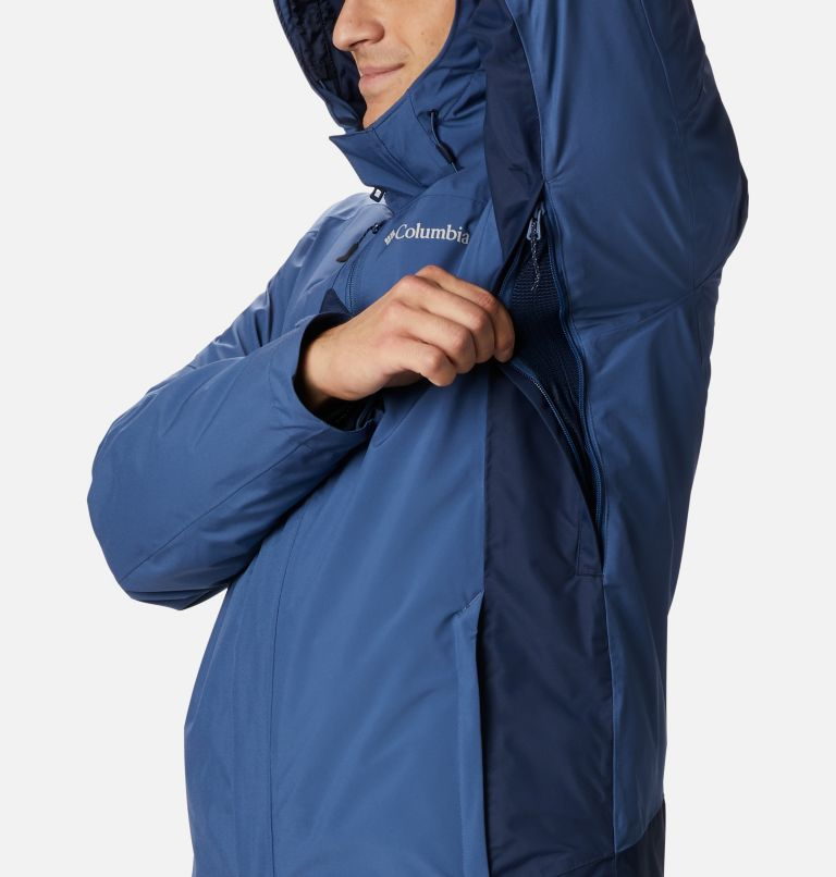Lhotse™ III Interchange Jacket | 452 | XL Men's Lhotse™ III Interchange Jacket, Night Tide, Collegiate Navy, a4