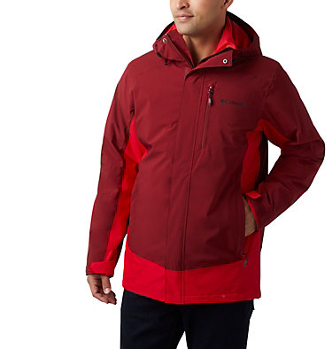 Manteau Interchange Lhotse™ III pour homme Lhotse™ III Interchange Jacket | 664 | L, Red Jasper, Mountain Red, front