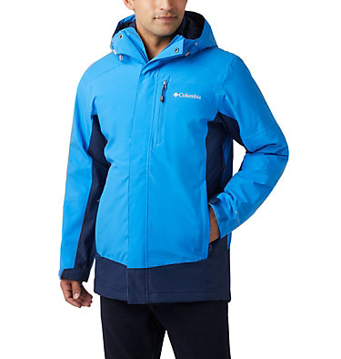 Men's Lhotse™ III Interchange Jacket - Big Lhotse™ III Interchange Jacket | 463 | 5X, Azure Blue, Collegiate Navy, front