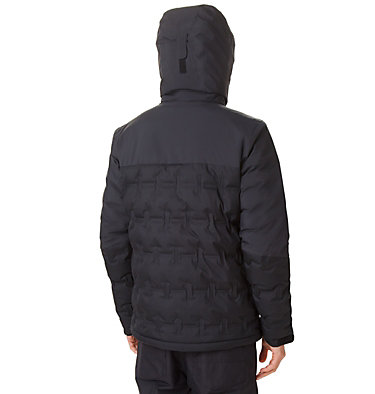 Men's Wild Card Ski Down Jacket Wild Card™ Down Jacket | 010 | L, Black, back
