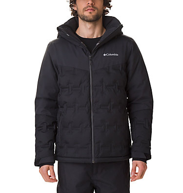 Men's Wild Card Ski Down Jacket Wild Card™ Down Jacket | 010 | L, Black, front