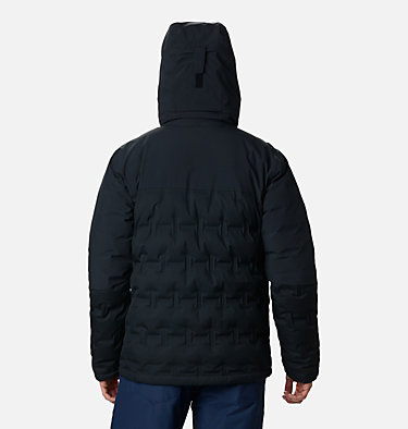 Chaqueta Esquí Wild Card para hombre Wild Card™ Down Jacket | 011 | S, Black, back