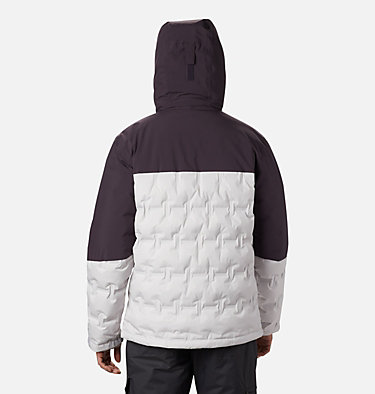 Wild Card Skijacke für Herren Wild Card™ Down Jacket | 011 | S, Nimbus Grey, Dark Purple, back