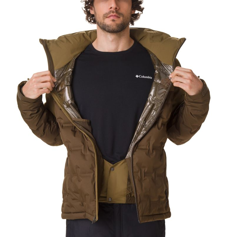 Wild Card™ Down Jacket | 319 | S Chaqueta Esquí Wild Card para hombre, Olive Green, Olive Brown, a2