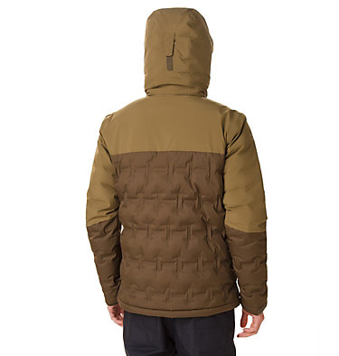 Chaqueta Esquí Wild Card para hombre Wild Card™ Down Jacket | 011 | S, Olive Green, Olive Brown, back