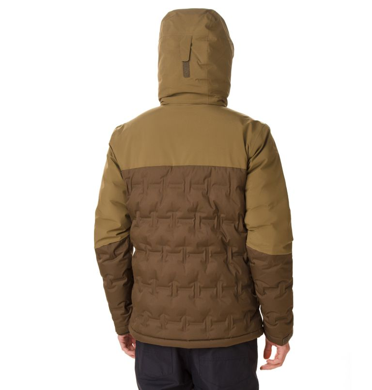Wild Card™ Down Jacket | 319 | S Chaqueta Esquí Wild Card para hombre, Olive Green, Olive Brown, back