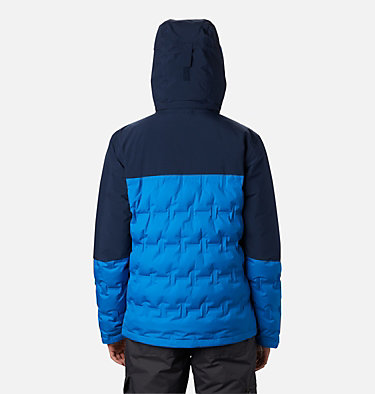 Chaqueta Esquí Wild Card para hombre Wild Card™ Down Jacket | 011 | S, Bright Indigo, Collegiate Navy, back