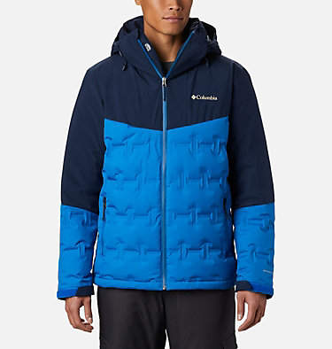Wild Card Skijacke für Herren Wild Card™ Down Jacket | 011 | S, Bright Indigo, Collegiate Navy, front
