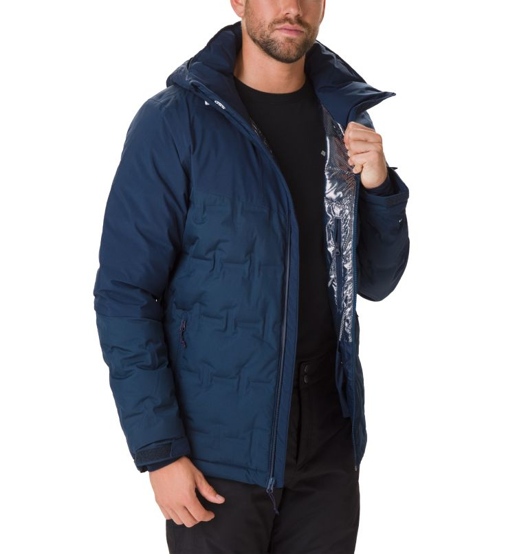 Wild Card™ Down Jacket | 464 | S Men's Wild Card Ski Down Jacket, Collegiate Navy, a1