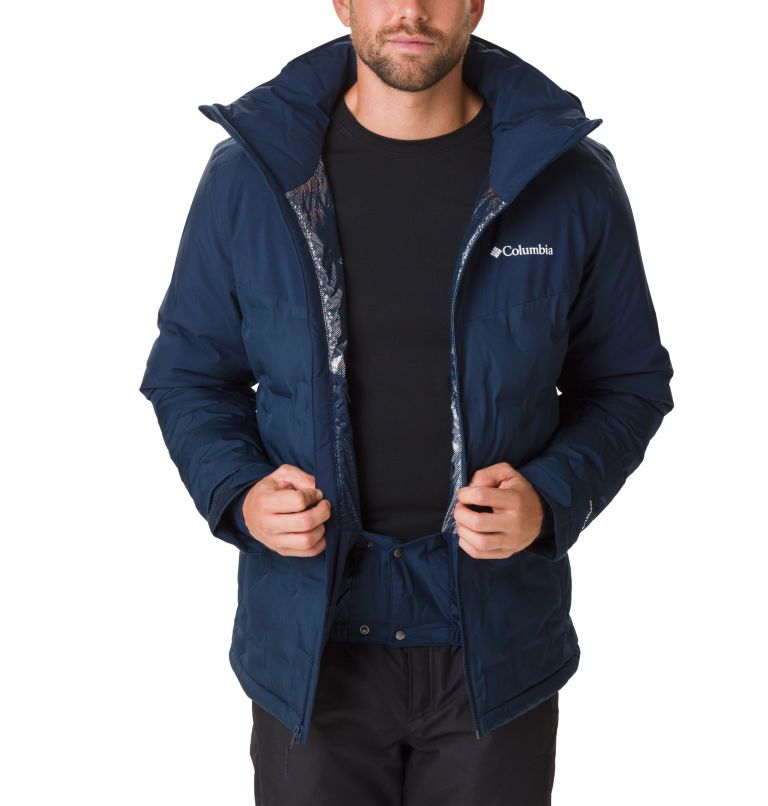 Wild Card™ Down Jacket | 464 | S Men's Wild Card Ski Down Jacket, Collegiate Navy, a2