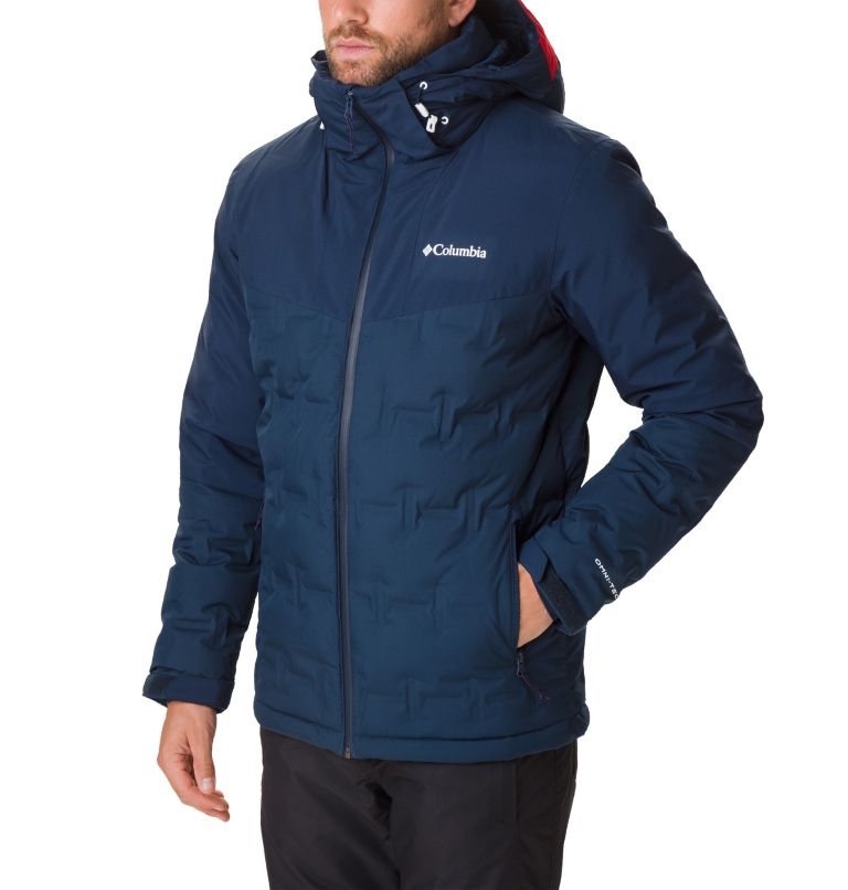 Wild Card™ Down Jacket | 464 | S Men's Wild Card Ski Down Jacket, Collegiate Navy, a3