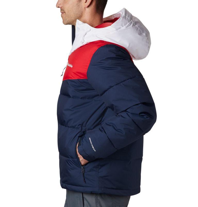 Iceline Ridge™ Jacket   464   XL Men's Iceline Ridge™ Jacket, Collegiate Navy, Mountain Red, White, a1