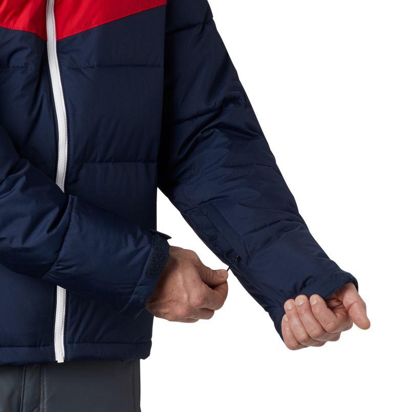 Iceline Ridge™ Jacket   464   XL Men's Iceline Ridge™ Jacket, Collegiate Navy, Mountain Red, White, a3