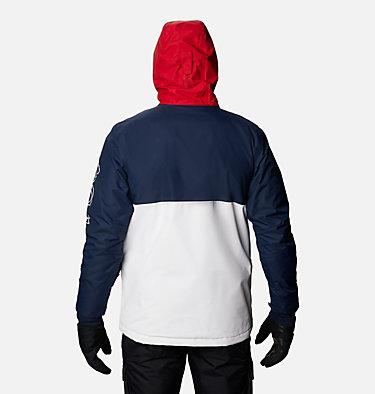 Men's Timberturner™ Insulated Jacket Timberturner™ Jacket | 271 | XL, White, Collegiate Navy, back
