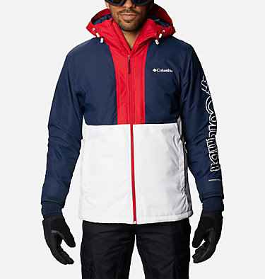 Men's Timberturner™ Insulated Jacket Timberturner™ Jacket | 271 | XL, White, Collegiate Navy, front