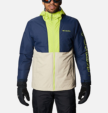 Men's Timberturner™ Insulated Jacket Timberturner™ Jacket | 271 | XL, Ancient Fossil, Coll Navy, Brt Chrtrse, front