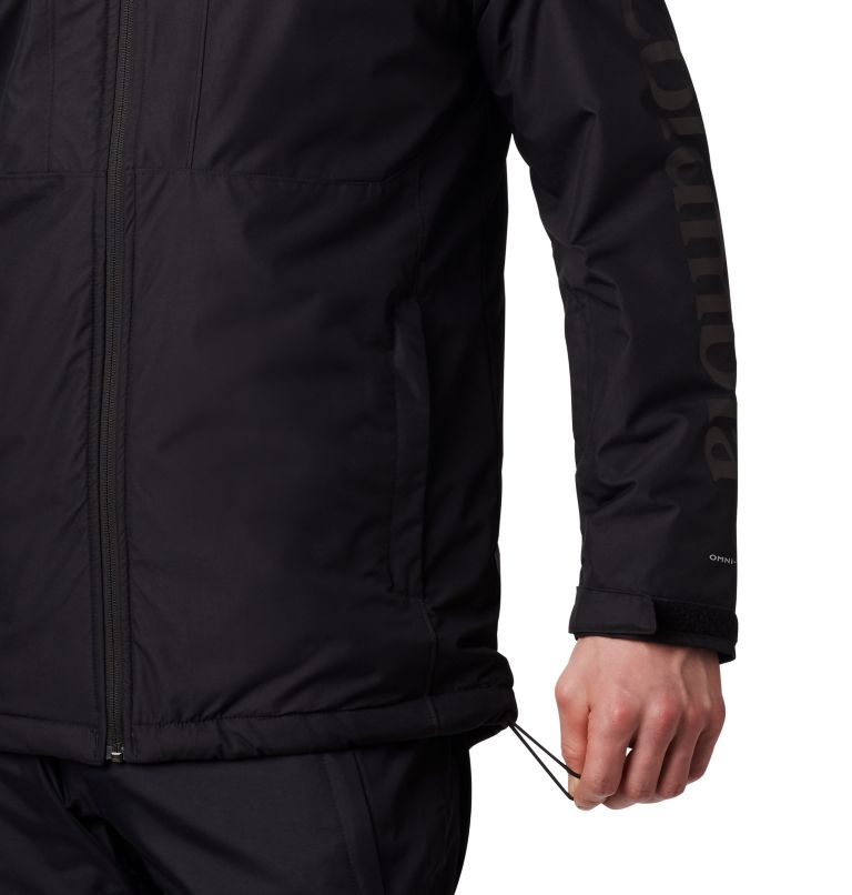 Timberturner™ Jacket | 010 | XL Men's Timberturner Ski Jacket, Black, a4