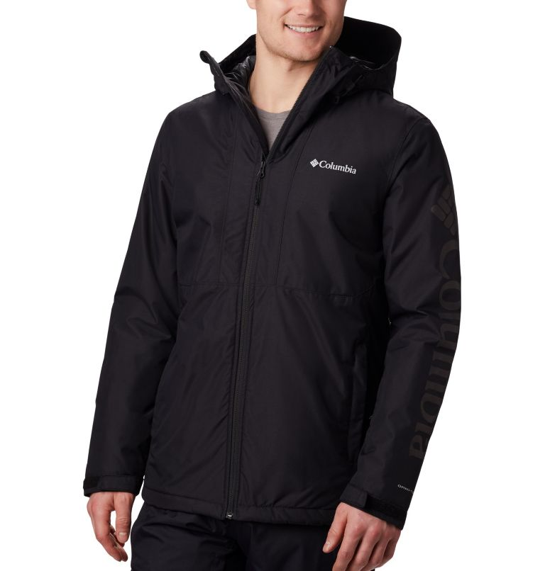 Timberturner™ Jacket | 010 | XL Men's Timberturner Ski Jacket, Black, front