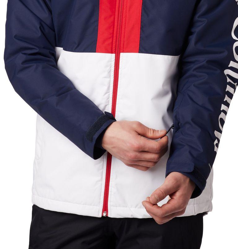 Timberturner™ Jacket | 100 | M Veste de Ski Timberturner Homme, White, Collegiate Navy, a1