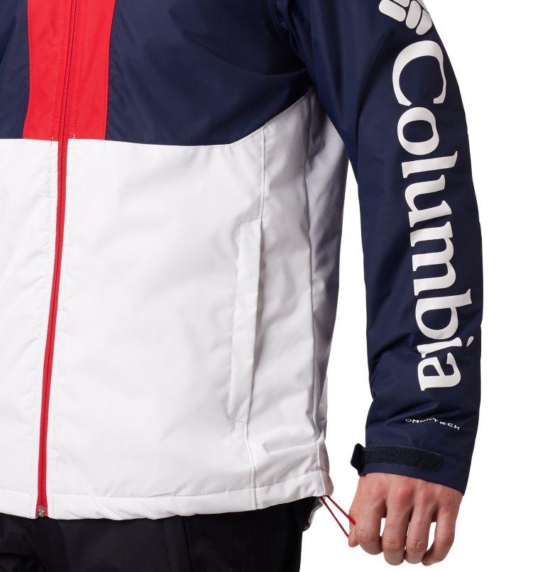 Timberturner™ Jacket | 100 | M Veste de Ski Timberturner Homme, White, Collegiate Navy, a3