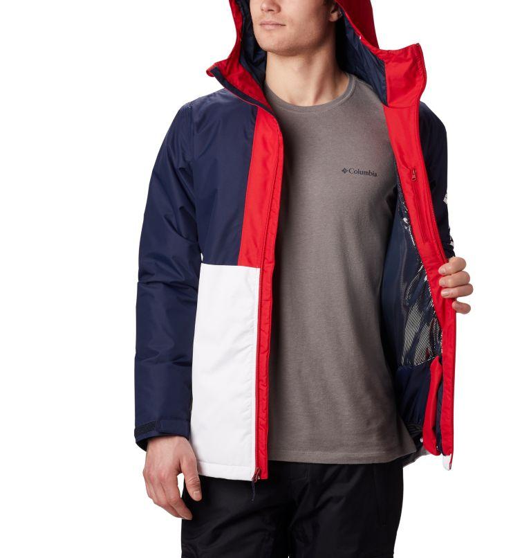 Timberturner™ Jacket | 100 | M Veste de Ski Timberturner Homme, White, Collegiate Navy, a5