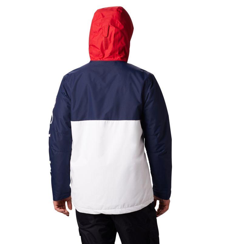 Timberturner™ Jacket | 100 | M Veste de Ski Timberturner Homme, White, Collegiate Navy, back