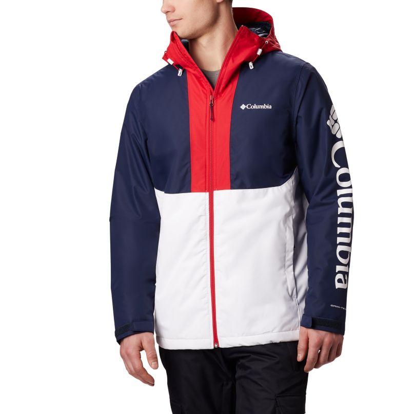 Timberturner™ Jacket | 100 | M Veste de Ski Timberturner Homme, White, Collegiate Navy, front