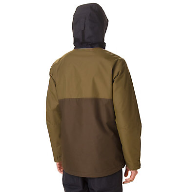 Men's Timberturner Ski Jacket Timberturner™ Jacket | 010 | L, Olive Brown, Olive Green, back