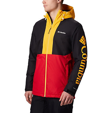 Men's Timberturner Ski Jacket Timberturner™ Jacket | 010 | L, Mountain Red, Black, front