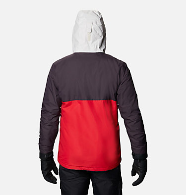 Veste de Ski Timberturner Homme Timberturner™ Jacket | 013 | S, Mountain Red, Dark Purple, Nimbus Grey, back