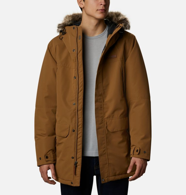 South Canyon™ Long Down Parka | 257 | L Men's South Canyon™ Long Down Parka, Delta, front