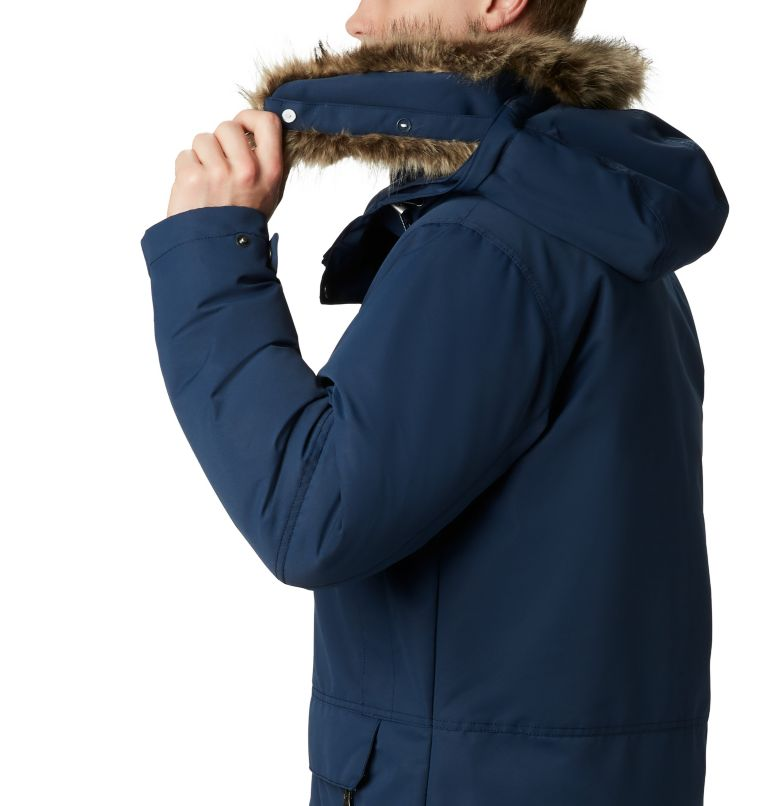 South Canyon™ Long Down Parka | 464 | 4X Men's South Canyon™ Long Down Parka - Big, Collegiate Navy, a1