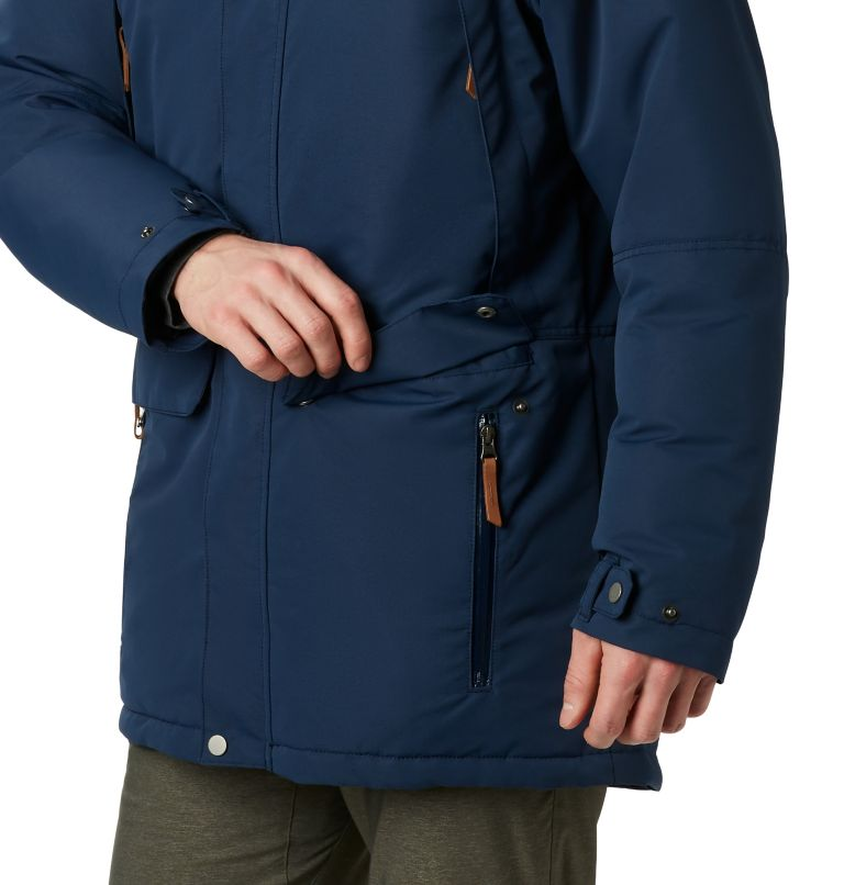 South Canyon™ Long Down Parka | 464 | 4X Men's South Canyon™ Long Down Parka - Big, Collegiate Navy, a3