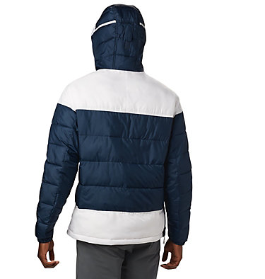 Men's Columbia Lodge™ Pullover Insulated Jacket Columbia Lodge™ Pullover Jacke | 464 | L, Collegiate Navy, White, back