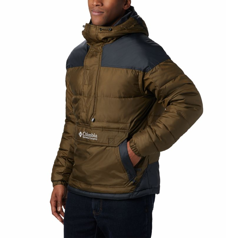 Columbia Lodge™ Pullover Jacke | 319 | L Veste À Enfiler Columbia Lodge Homme, Olive Green, Black, a2